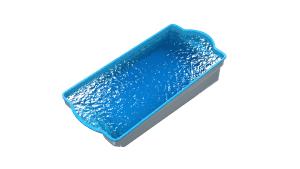 DIY POOLS - Water View - The Conquest - Culture Coral Blue - Back