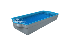 DIY POOLS - Water View - The Conquest - Culture Coral Blue - Front
