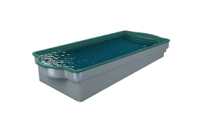 DIY POOLS - Water View - The Conquest - SEQUINS AQUA MARINE- Front