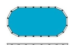 Above Ground Pool OVAL Design