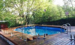 DIY POOLS MELBOURNE - Above Ground Pool - Frameless glass Pool Image