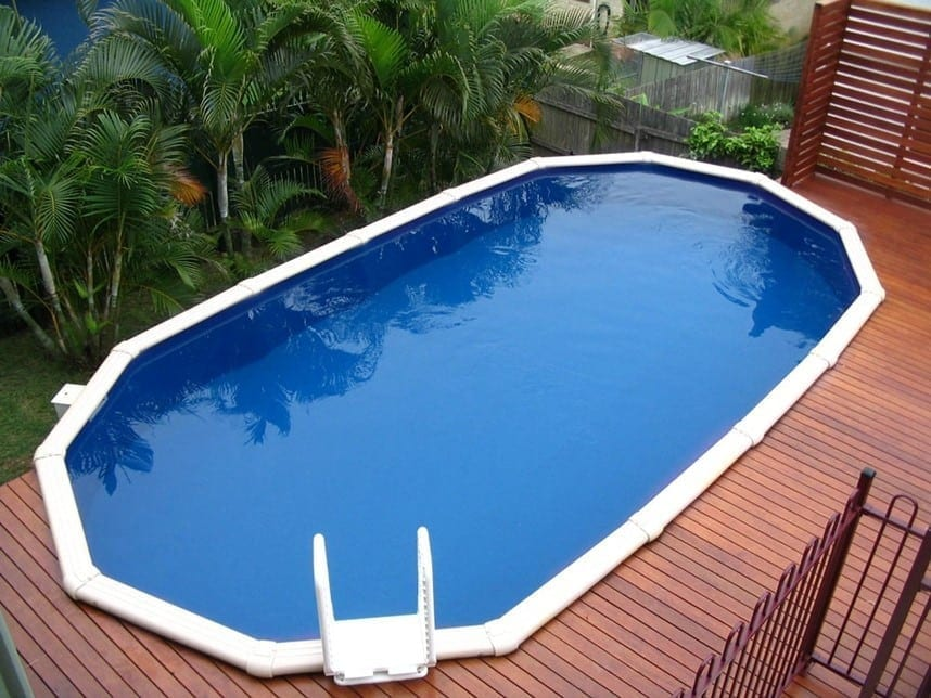 Above Ground Pool - The Palm Cove