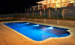 DIY POOLS MELBOURNE - FIBREGLASS POOLS - NIGHT PHOTO - THE CONQUEST 3