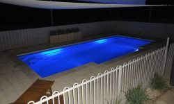DIY POOLS MELBOURNE - FIBREGLASS POOLS - NIGHT PHOTO - THE FLINDERS