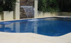 DIY POOLS MELBOURNE - FIBREGLASS POOLS - PHOTO - THE CONQUEST - SEQUINS - BERMUDA BLUE - 8 METER
