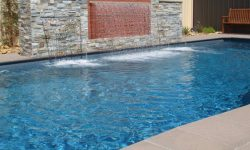 DIY POOLS MELBOURNE - FIBREGLASS POOLS - PHOTO - THE MACQUARIE - CRYSTAL GRANITE - DUSKY BLUE