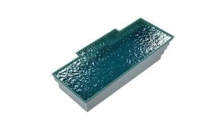 DIY POOLS - THE FLINDERS - 3D Water Filled Pool - Front - SEQUINS AQUA MARINE
