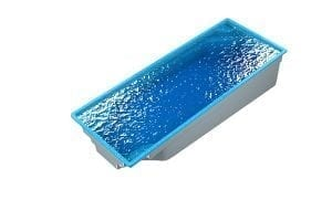 DIY POOLS - THE FRANKLIN - 3D Water Filled Pool - Front - Culture Coral Blue