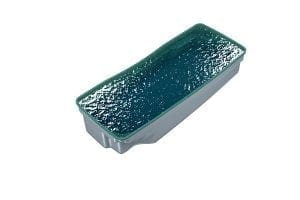 DIY POOLS - THE HUDSON - 3D Water Filled Pool - Front - SEQUINS AQUA MARINE