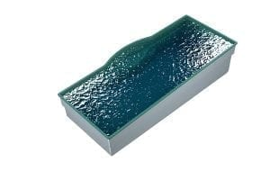 DIY POOLS - THE MACQUARIE - 3D Water Filled Pool - Front - SEQUINS AQUA MARINE