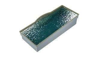 DIY POOLS - THE MACQUARIE - 3D Water Filled Pool - Front - SEQUINS HAWAIIAN SAND