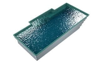 DIY POOLS - THE MARADONA - 3D Water Filled Pool - Front - SEQUINS AQUA MARINE