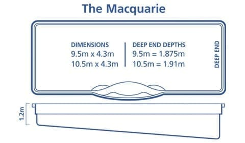 DIY Pools Melbourne -Inground fibreglass pool Designs - Macquarie