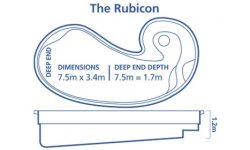 DIY Pools Melbourne -Inground fibreglass pool Designs -Rubicon