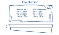DIY Pools Melbourne -Inground fibreglass pool Designs -Hudson
