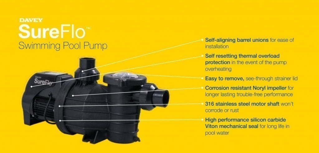 DIY Pools Melbourne - Sureflow Pool Pumps