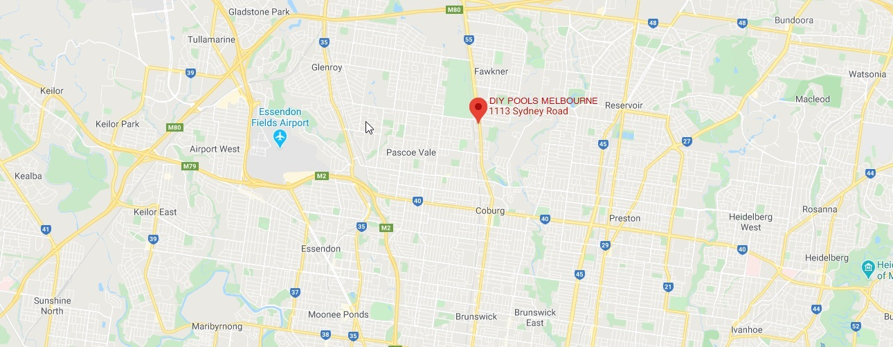 DIY Pools Melbourne Store Location