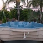 DIY POOLS - STEP 11 - Lower Swimming Pool-into the base