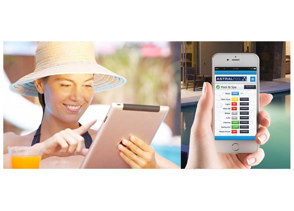 DIY Pools Melbourne - Pool Automation - connect 10 lifestyle